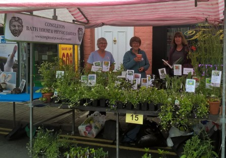 Linda, Vanessa and Ros at our Food & Drink Festival stall